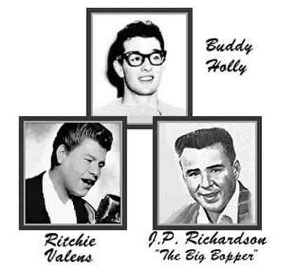 Buddy Holly - Ritchie Valens - Big Bopper